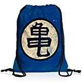 style3 Goku Roshis Turtle School Rucksack Tasche Turnbeutel Sport Jute Beutel
