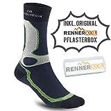 Meindl Revolution Dry- Sock Wander-Trekking Socken, Marine, 40 bis 43