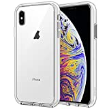 JETech Coque iPhone XS Max 6,5 Pouces, Shock-Absorption, HD Clair