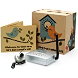 Wireless Bird Box Camera with Night Vision, 700TVL Video and Audio - Perfect for your Garden