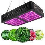 Pflanzenlampe LED Grow Lampe 600W Pflanzenleuchte Wachstum Led Grow Lights Für Zimmerpflanzen Wachstum Im Growbox/Gewächshaus/Grow Tent Mit IR UV Licht/Lichtstrom: 7200 (Lm)