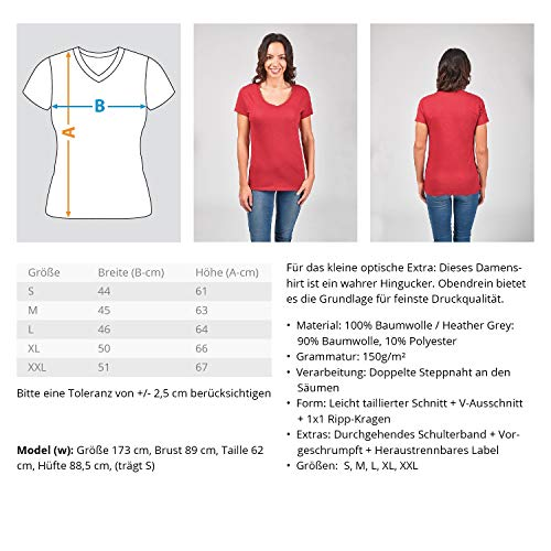 Kleidungskulisse Ingenieur Ideales Geschenk für Ingenieure Diplom Ingenieure Techniker Fachleute Akademiker - V-Neck Damenshirt -S-Schwarz