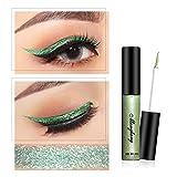 Cocohot Metallic Liquid Eyeliner Glitter Wasserdicht Pflegend Schimmer Pigmented Precision Flüssig-Eyeliner 6ml