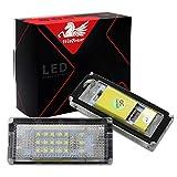 Win Power d'erreur gratuit LED licence lampe de plaque d'immatriculation assemblée Blanc froid lamps ampoule , 2pcs