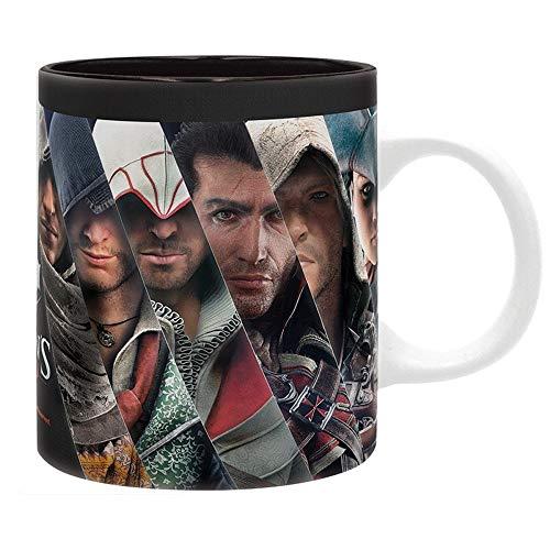 (Assassins Creed - Keramik Tasse - Assassinen Legenden - Geschenkbox)