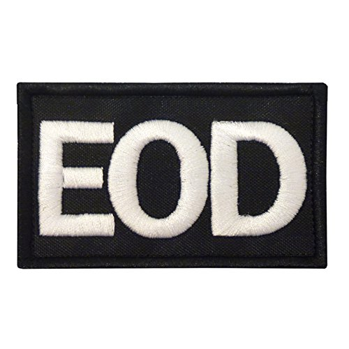 EOD Explosive Ordnance Disposal Army Taktisch Tactical Embroidered Sew Iron on Aufnäher Patch -
