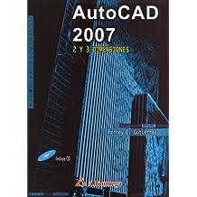 Autocad 2007 2 y 3 Dimensiones