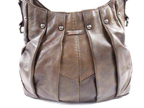 The Leather Emporium, Borsa tote donna Marrone