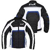 HWK Textile Motorcycle Jacket Motorbike Jacket Biker Riding Jacket Cordura Waterproof CE Armoured