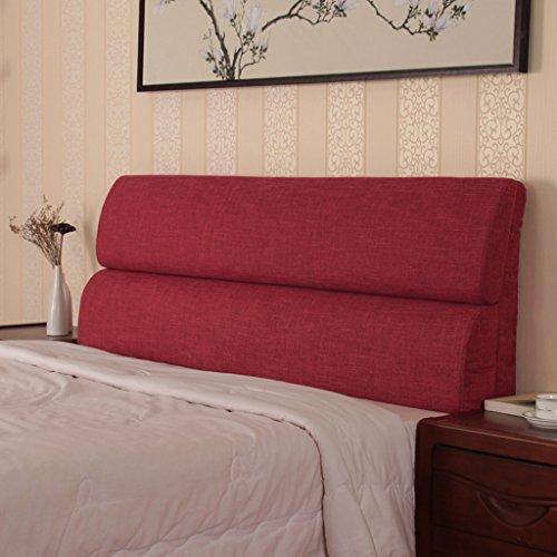 Skandinavischen Stil Baumwollbett Kopf Kissen Hohe Dichte Schwamm Weichen Pack Bett Kopf Abnehmbare Waschbare Rückenlehne (Bett-köpfe)