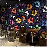 3D wallpaper Benutzerdefinierte Wandbild Tapete Moderne Mode Album Collage Tapete Bar Cafe Ktv Wohnzimmer Hintergrund Wandbild Tapeten Wohnkultur Kleber senden 450x300cm
