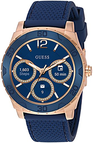 GUESS Ace Mens Touch AMOLED Azul, Rose Gold SmartWatch
