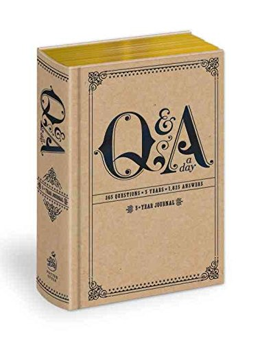 Descargar Libro [(Q and A a Day : 5-year Journal)] [Author: Potter Style] published on (March, 2015) de Potter Style
