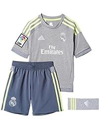 Real Madrid 15/16 Extérieur Enfants - Kit de Foot Réplique - size