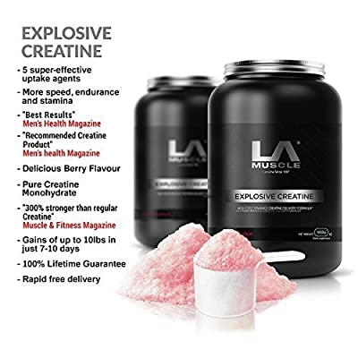 LA Muscle Explosive Creatine More speed, Endurance and Stamina by LA Muscle