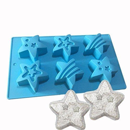 De junio Navidad-silicona baño Bomb molde Fizzies