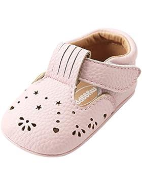 Sandalias Para Bebés, Malloom Niña Zapatos de Verano Sandalias Zapatos de Flores Huecas 0-2 Años