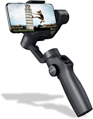 Xmate Tour 3 Axis Handheld Smartphone Gimbal Stabilizer, Zoom Capability, Phone Go Mode, Object Tracking, Video Edit & Share Support, 4000mAh Battery, 12 Hours Battery Life (Black)