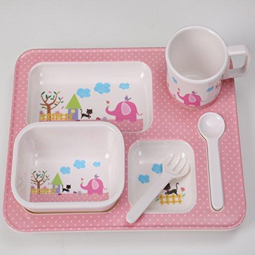 Bambino Set di stoviglie embedded diviso piatti,