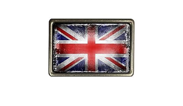 Kühlschrankmagnet,Magnetschild Motiv Flagge Slowenien,shabby,chic,alt,abgenutzt