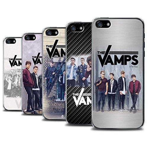 Officiel The Vamps Coque / Etui pour Apple iPhone 5/5S / Pack 6pcs Design / The Vamps Séance Photo Collection Pack 6pcs
