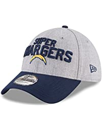 0cc227fc7aa9 New Era NFL Los Angeles Chargers Authentic 39THIRTY Onstage Draft 2018  Stretch Fit Cap