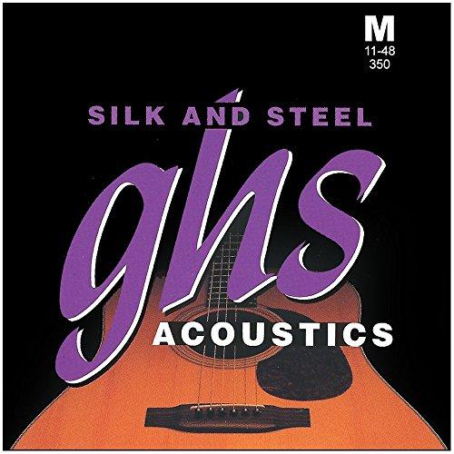 ghs-sas-350-silk-steel-string-medium