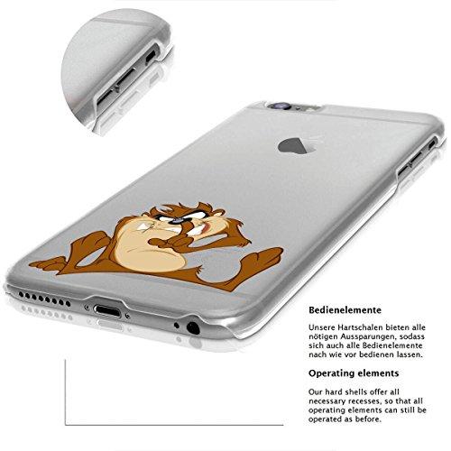 Custodia rigida looney tunes taz serie 2 iPhone - TAZ Aggressivo, Iphone 5/5S TAZ dita