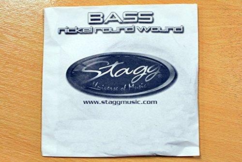 Stagg NRW-100 Nickel Round Wound Bass