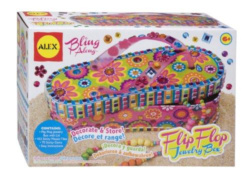 Alex Toys Craft Bling Along Flip Flop Schmuck Box -