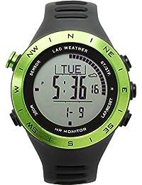 [Lad Weather  tedesco sensore cardiofrequenzimetro cronometro orologio ABC multifunzione allenamento/attività sportive