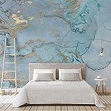 Retro Luxus Blau Bronzing Textur Fototapete Große Wandbild Wohnzimmer Schlafzimmer Sofa TV Wand Dekoration Wand Papier Wandbild 8D 400x280cm