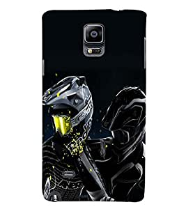 PRINTSWAG RIDERS Designer Back Cover Case for SAMSUNG GALAXY NOTE 4 DUAL