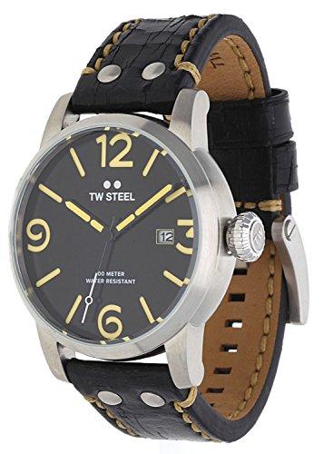 TW Steel Hombre Reloj de pulsera Maverick Negro MS2–1