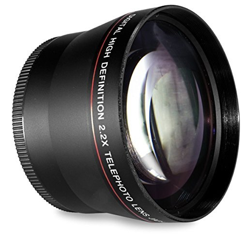 58MM 2.2x Telephoto Conversion Lens for Canon EOS Rebel T6s T6i SL1 T5 T5i T4i T3 T3i T1i T2i XSI XS XTI XT 70D 60D 60Da 50D 40D 30D 20D 10D 7D (100D 300D 350D 400D 450D 500D 550D 600D 650D 700D 750D 760D 1000D 1100D 1200D) Digital SLR Cameras (Compatible With 18-55mm 50mm 1.4 Lens)  available at amazon for Rs.2322