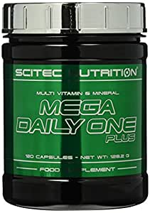 Scitec Nutrition Mega Daily One Plus, 120 Kapseln, 1er Pack (1 x 128,2 g)