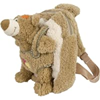 Bieco 04601550 Plush Rucksack 30 x 25 x 12 cm with Bear