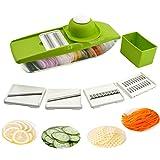 5 in 1 Kompakter Gemüsehobel Mandoline Slicer - Schneiden oder