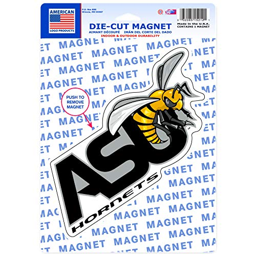 Wincraft American Logo Products Alabama State Hornets Logo Magnet