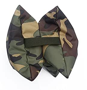 Grippa Bean Bag, Prefilled. WATERPROOF material, Size 22cm x 22cm approx, Wildlife Photography Bean Bag for cameras