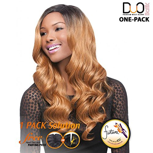 Outre Batik galons de Duo – Parisian Bundle Hair 5pcs – (4 Pack complet) Weave