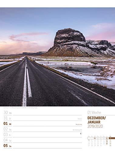 Island - Wochenplaner 2020, Wandkalender im Hochformat (25x33 cm) - Wochenkalender mit Rätseln und Sudoku auf der Rückseite: Alle Infos bei Amazon
