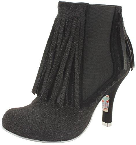 Irregular Choice - Stivali da cowboy Donna Nero (nero)