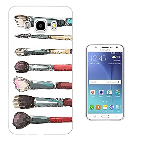1009 - Cool Fun Cute Make Up Brushes Illustration Art Ladies Blusher Foundation Fashion Trend Kawaii Design Samsung Galaxy Grand Prime G530 Fashion Trend Protecteur Coque Gel Rubber Silicone protection Case Coque