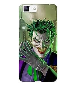 EPICCASE Villan Case Mobile Back Case Cover For Vivo X5 (Designer Case)
