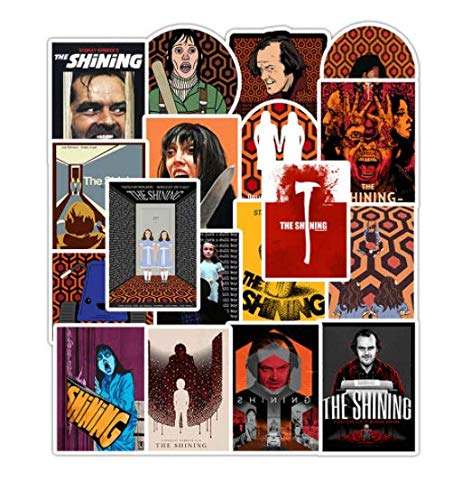 DZCYAN 50 PCS Horror Movie The Shining Sticker Waterproof