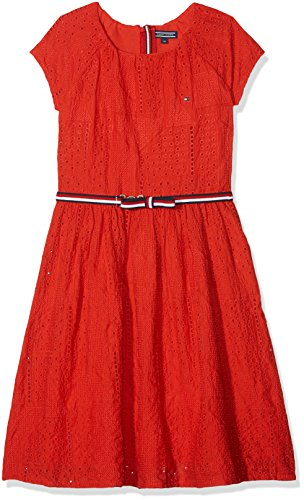 Tommy Hilfiger Girl's AME Charming Shiffley S/S Dress