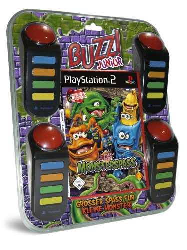 BUZZ! Junior: Monsterspaß inkl. 4 Buzzer