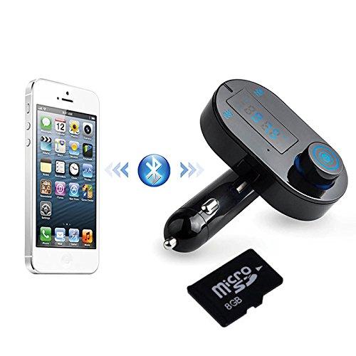 G48 Auto MP3 Player FM Transmitter TF Slot Audio Bluetooth Freisprechanlage +8 GB TF Karte