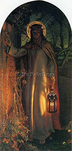 HUNT W H THE LIGHT OF THE WORLD BILDER BILD REPRODUKTION OLGEMALDE MALEREI 120x60cm HOCHWERTIGER
